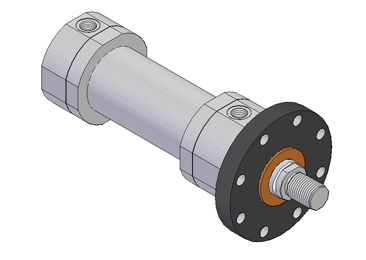 ISO6022 mill type hydraulic cylinder