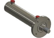 front flange mounted hydraulic cylinder