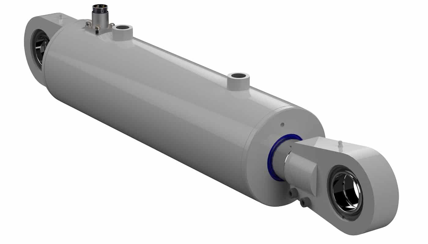 Hydraulic Cylinder Design : Bespoke subsea hydraulic cylinder interfluid ltd